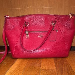 Red Coach Purse